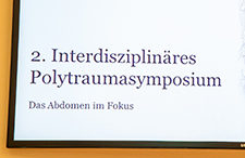 "Fotogalerie: 2. Interdisziplinäres Polytraumasymposium ""Das Abdomen im Fokus"""