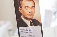 Fotogalerie Festveranstaltung zum 100. Geburtstag von o. Univ.-Prof. Dr. Emanuel Trojan, 1/2019