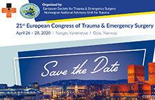 21. European Congress of Trauma & Emergency Surgery | 26.-26. April 2020, Oslo